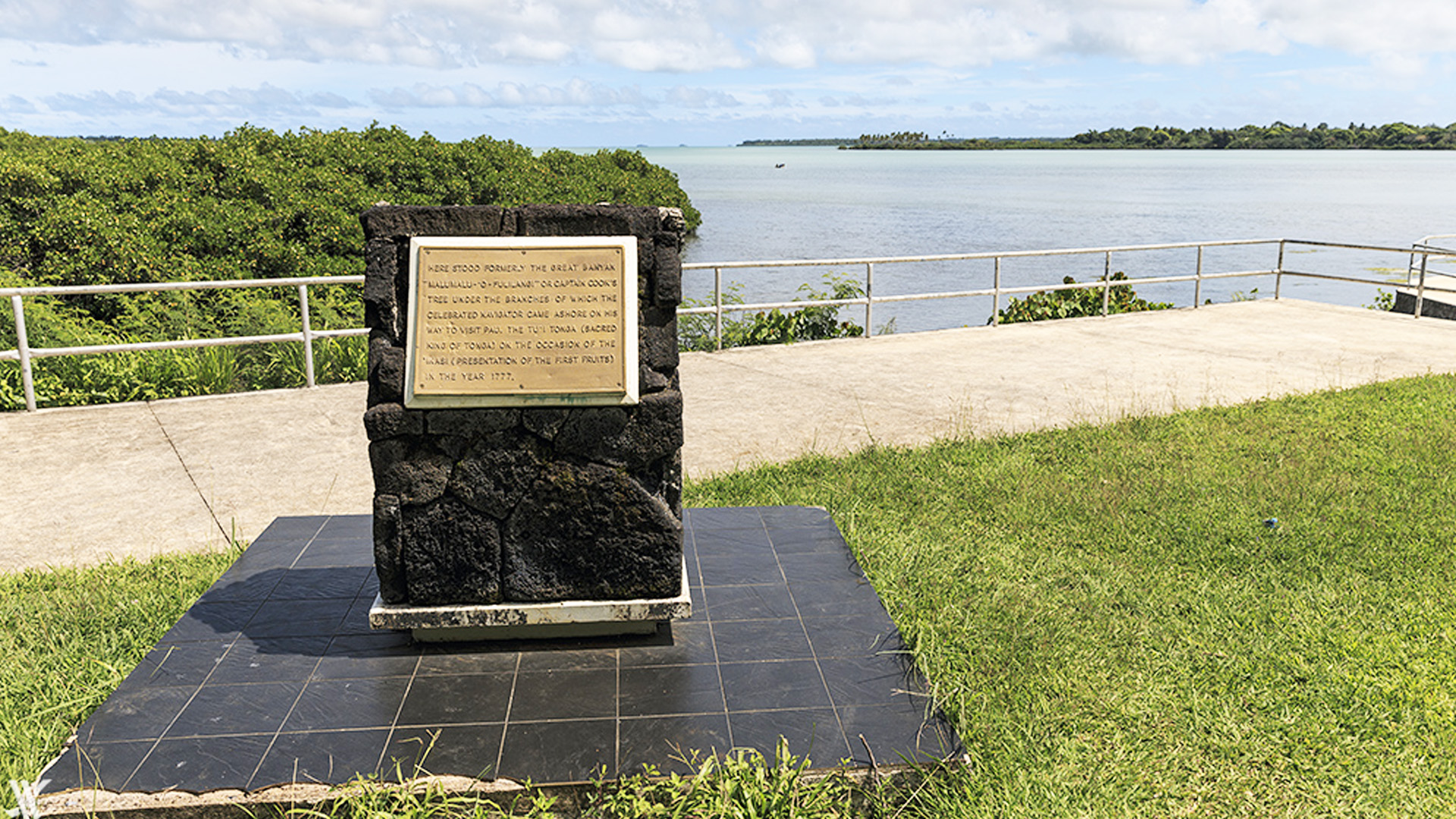 Captain Cook's Landing Place - Tonga