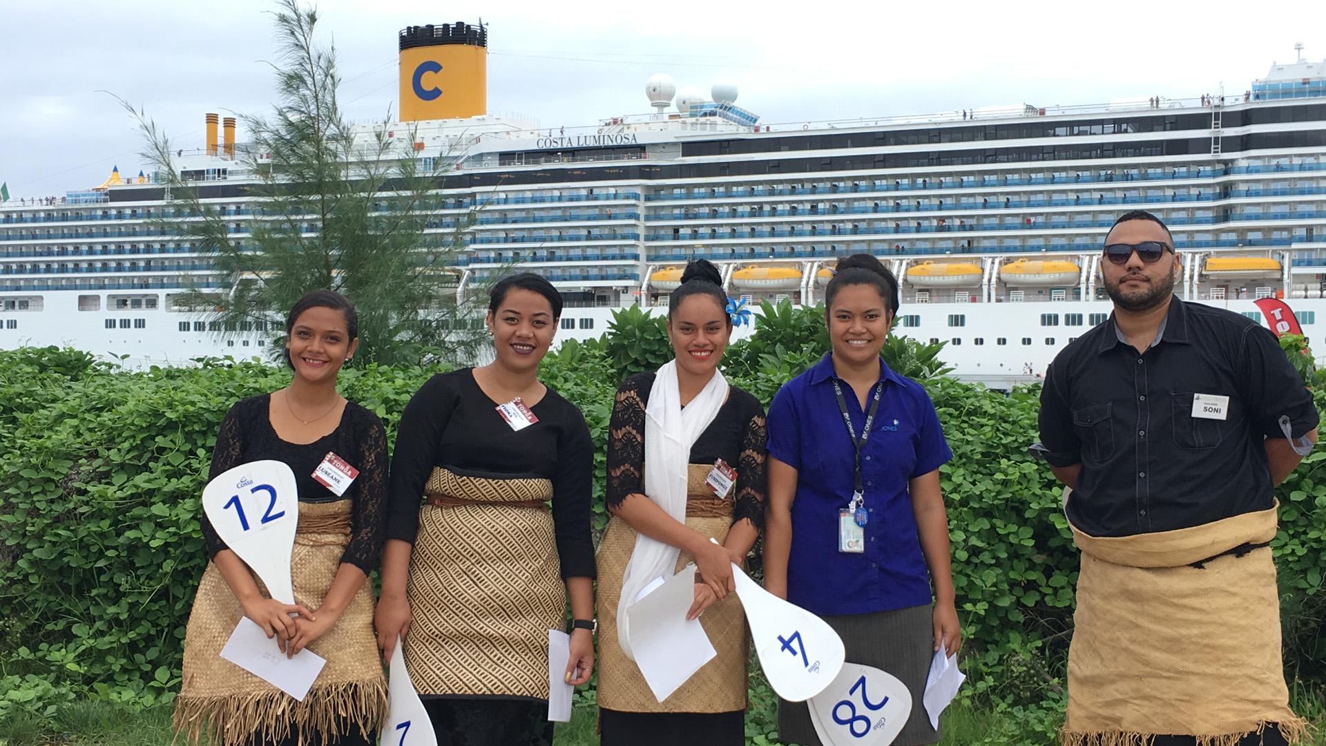 Costa Luminosa Tonga Tour