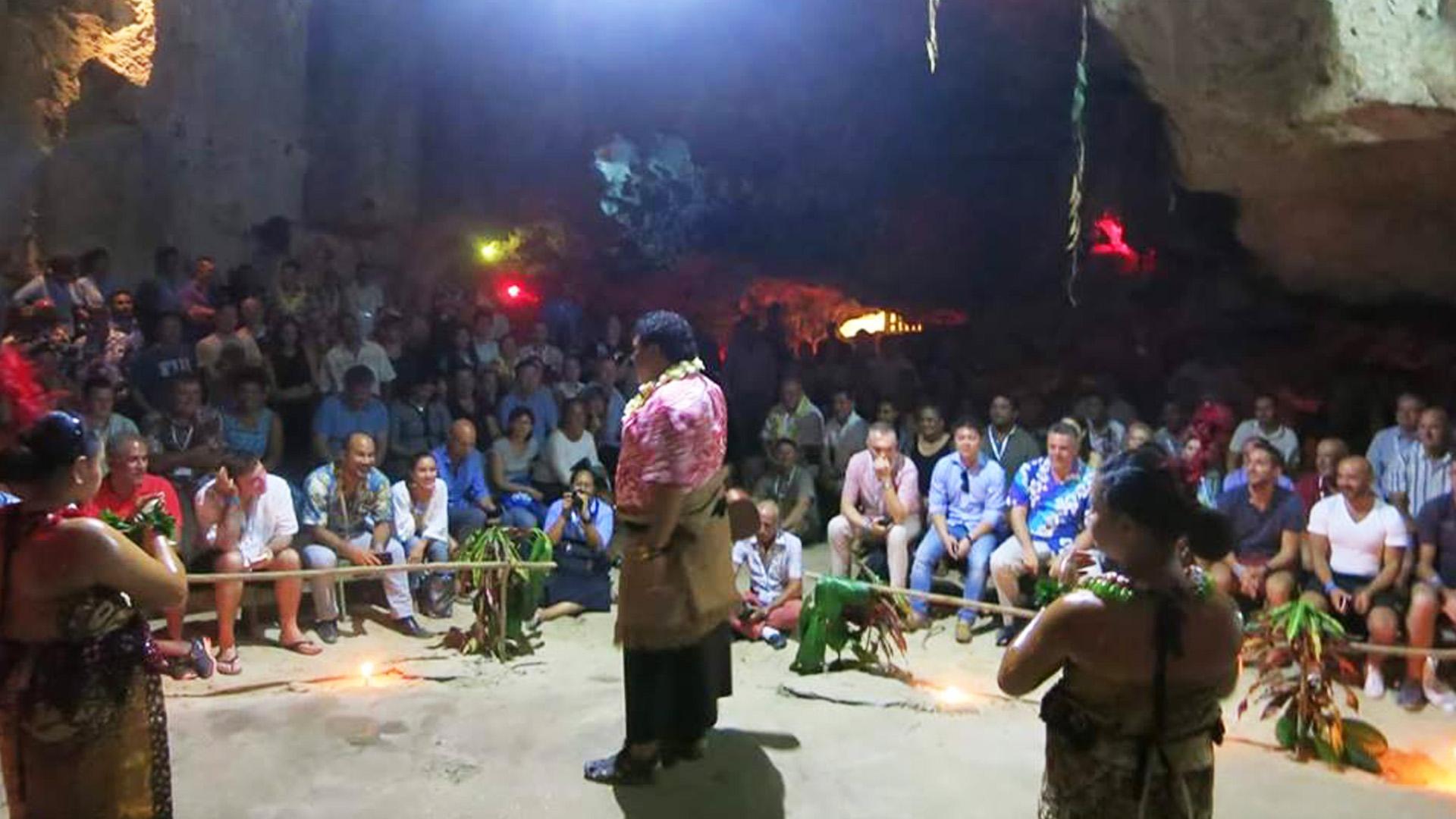 Hina's Cave - Tonga Tours