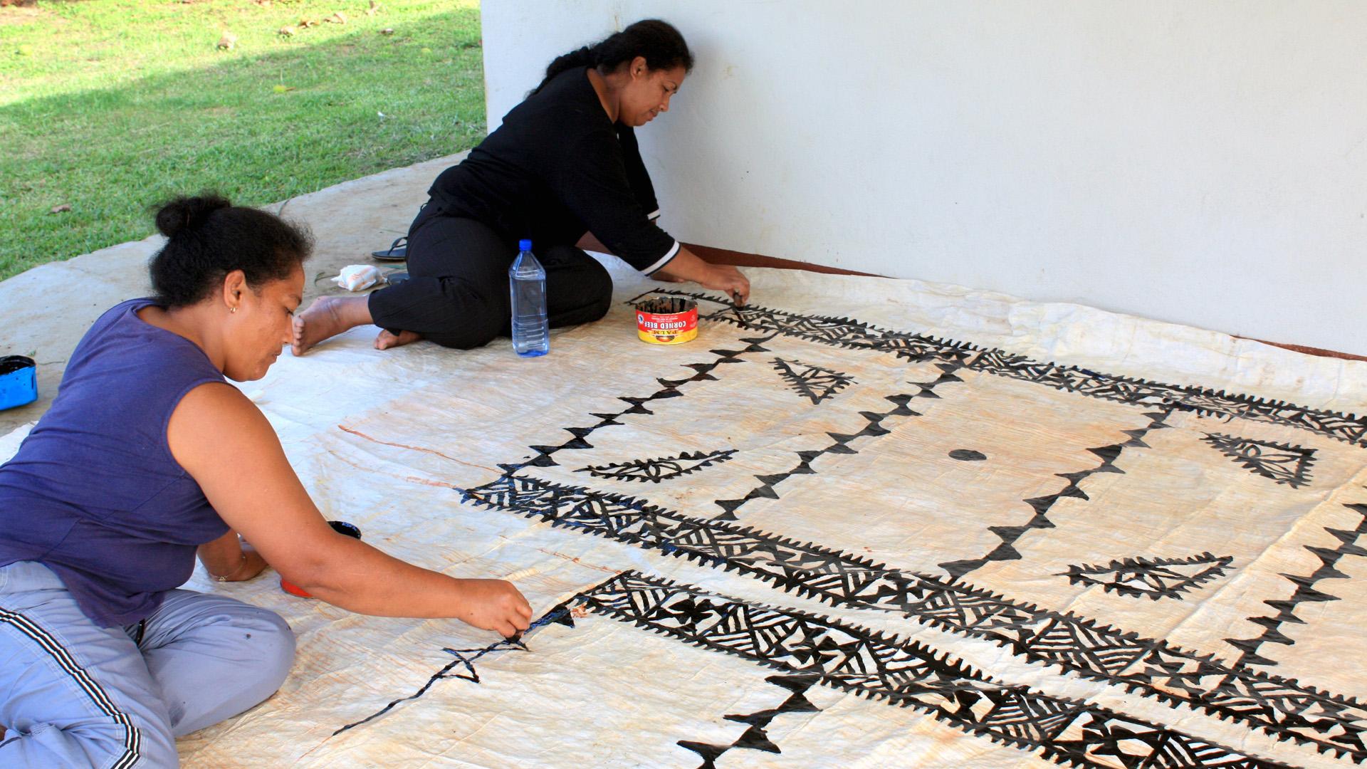 Tapa Making - Vava'u Tonga