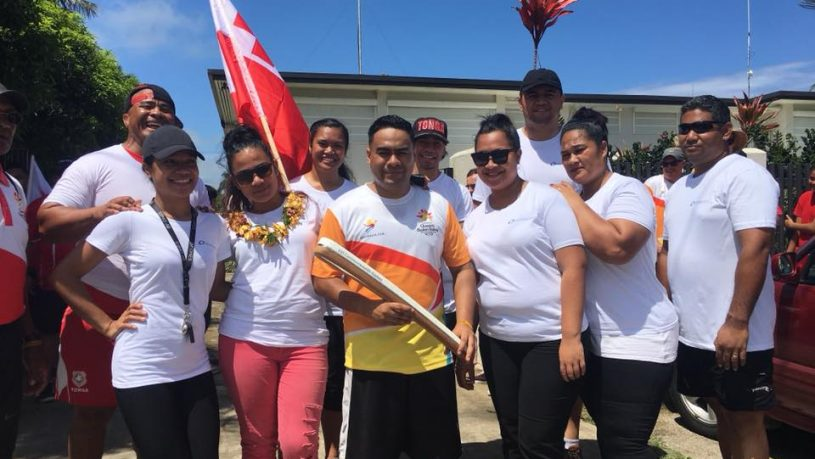 Queen's Baton Relay in Tonga